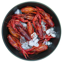 15 lbs of Whole Cooked Crawfish
