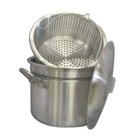 24 qt. Mini Crawfish Boiling Pot | Aluminum