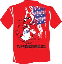 Distressed Boudreaux T-shirt - S
