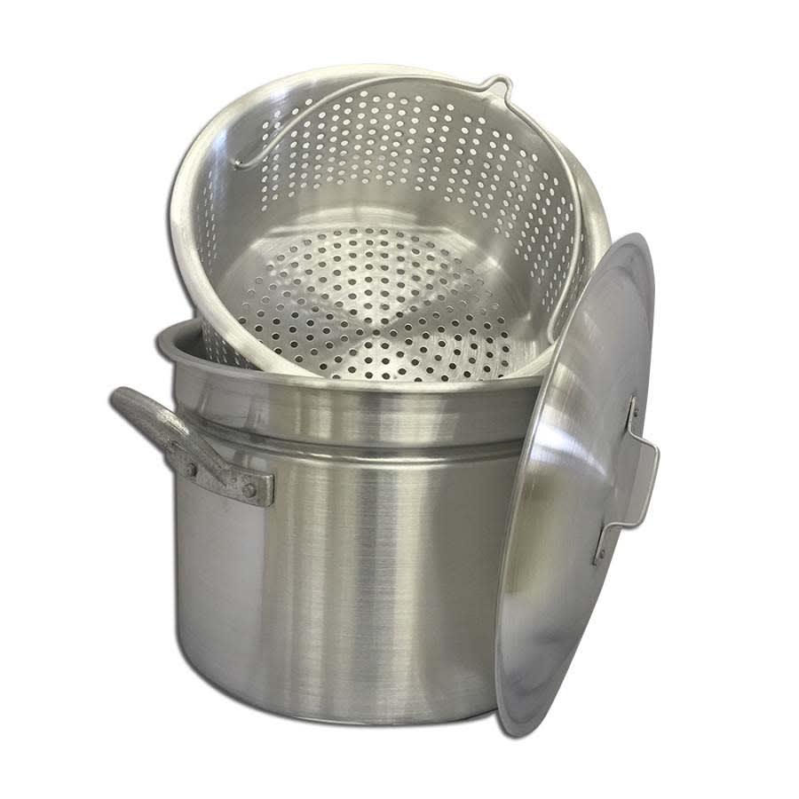 24 qt. Mini Crawfish Boiling Pot | Aluminum