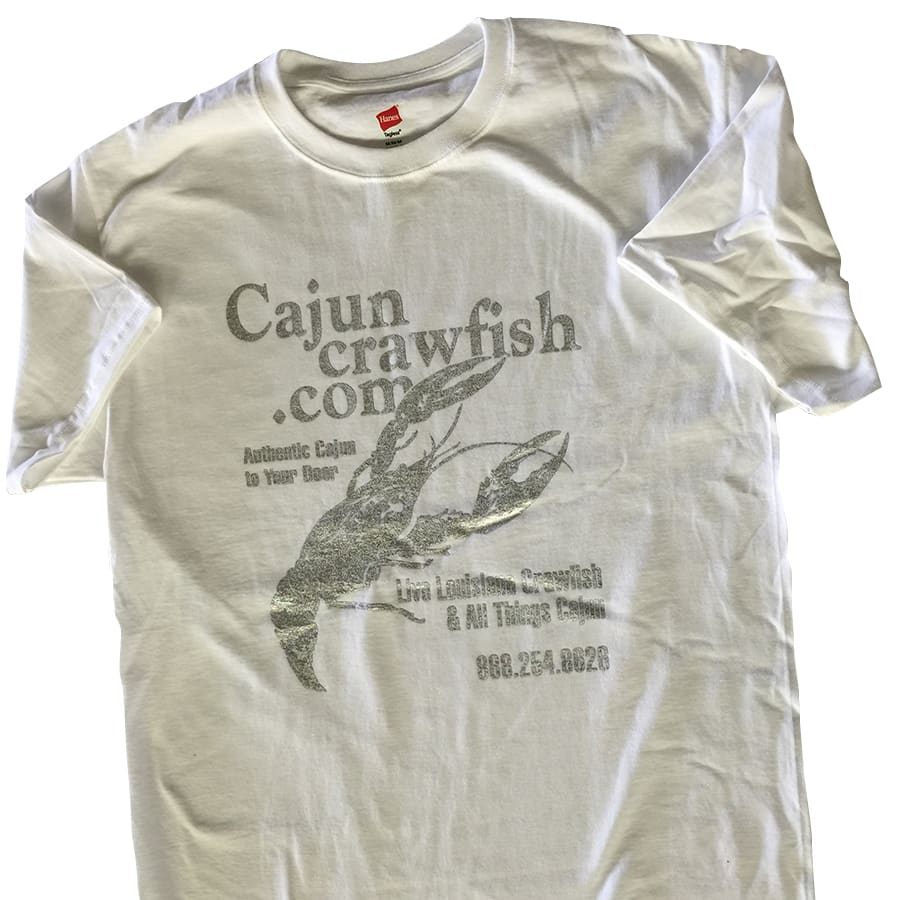 Cajun Wear | CajunCrawfish Bling T-Shirt