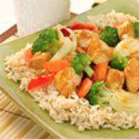 brown rice & chicken recipe