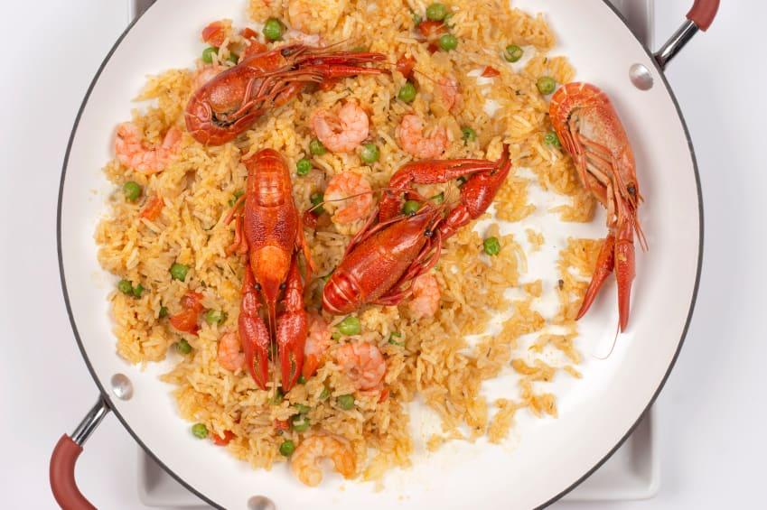 Crawfish (Seafood) Paella