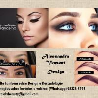 Alessandra - Micropigmentação de sobrancelhas  Design e desondulação das sobrancelhas  SOU CONSUMIDOR