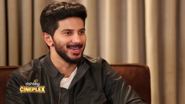 Dulquer Salmaan looks dapper in this Charcoal Grey Jacket