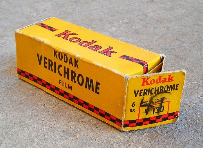 Pellicule Kodak Verichrome Pan