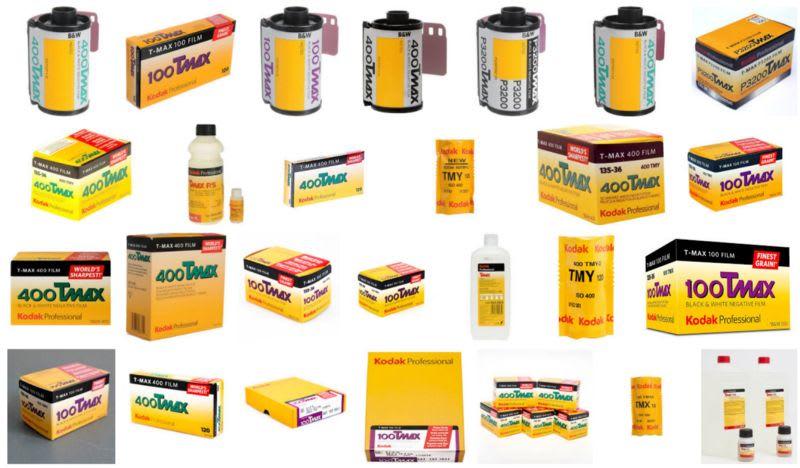 Pellicules Kodak T-Max