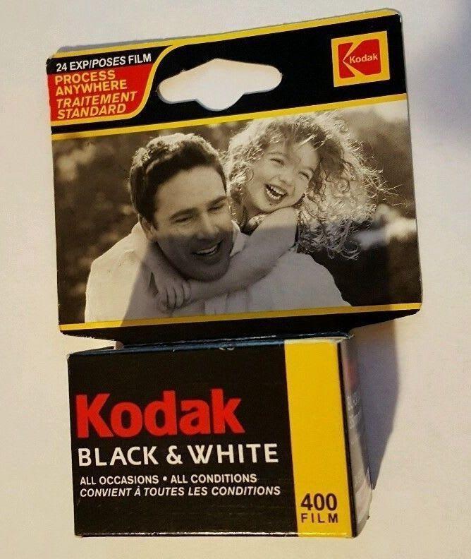 Pellicule Kodak Black & White 400