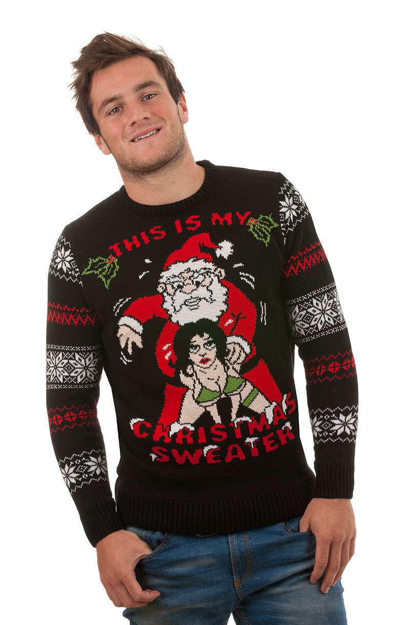 This Is My Christmas Sweater | Novelty | Rude Christmas Jumpers