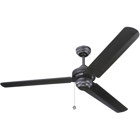 "54"" Studio Fan -  Matte Black"