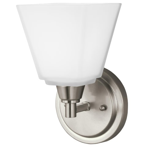 Parkfield One Light Wall / Bath Sconce Brushed Nickel
