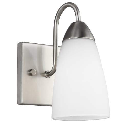 Seville One Light Wall / Bath Sconce Brushed Nickel
