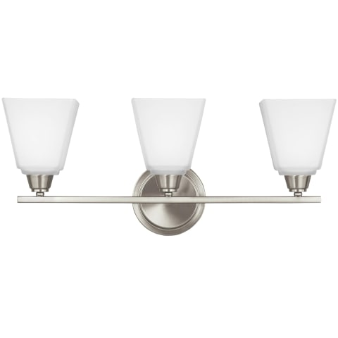 Parkfield Three Light Wall / Bath Brushed Nickel