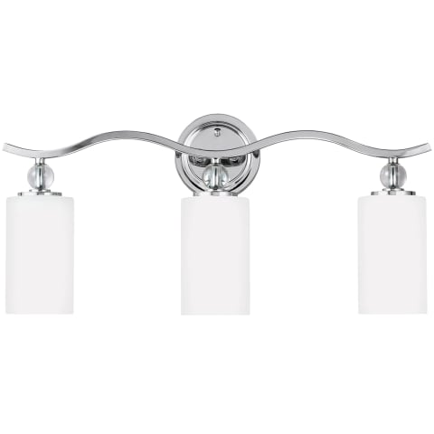 Englehorn Three Light Wall / Bath Chrome Bulbs Inc