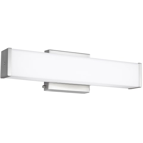 Aldridge Small LED Wall / Bath Brushed Nickel
