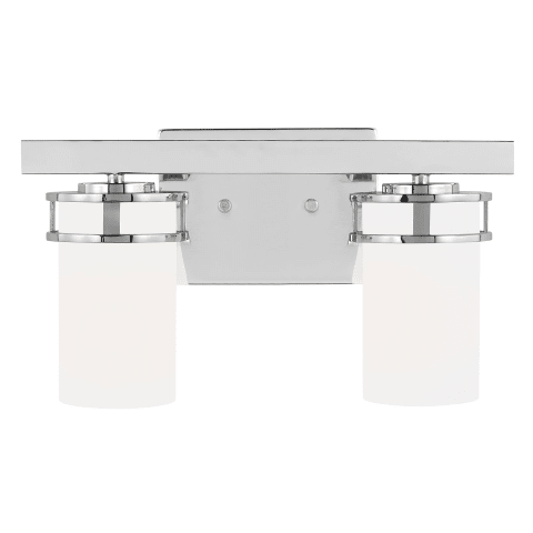 Robie Two Light Wall / Bath Chrome Bulbs Inc