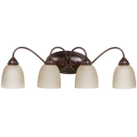 Lemont Four Light Wall / Bath Burnt Sienna