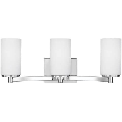 Hettinger Three Light Wall / Bath Chrome