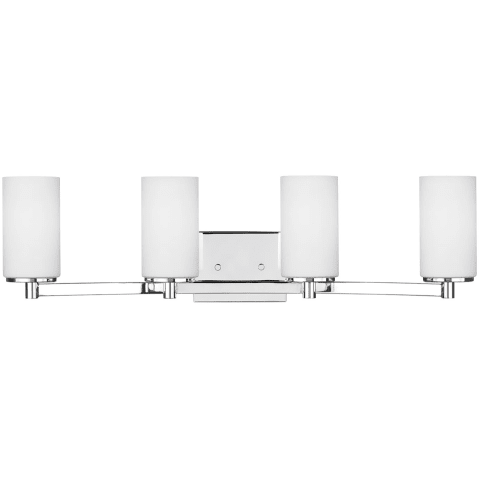 Hettinger Four Light Wall / Bath Chrome