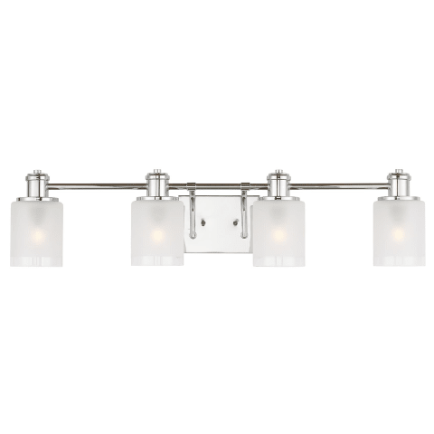 Norwood Four Light  Wall / Bath Chrome