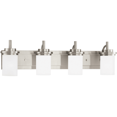Winnetka Four Light Wall / Bath Brushed Nickel