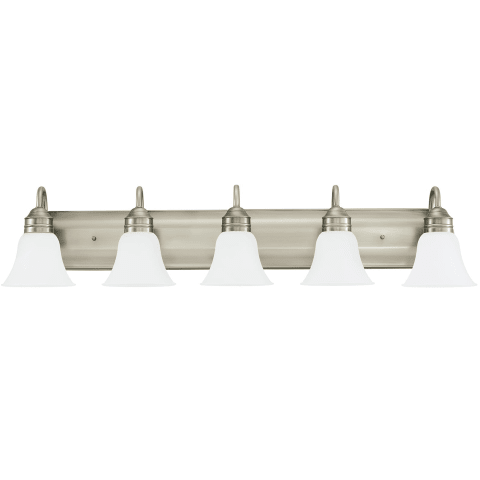 Gladstone Five Light Wall / Bath Antique Brushed Nickel