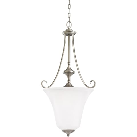 Parkview Three Light Hall / Foyer Antique Brushed Nickel Bulbs Inc