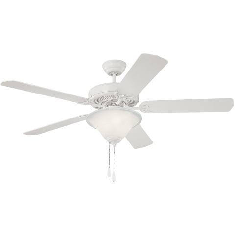 "52"" Homeowner's Deluxe Fan -  White"