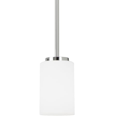 Oslo One Light Mini-Pendant Chrome