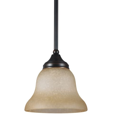 Brockton One Light Mini-Pendant Burnt Sienna