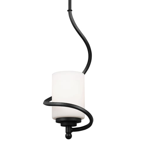 Goliad One Light Mini-Pendant Blacksmith