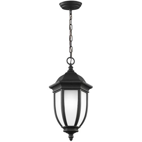 Galvyn One Light Outdoor Pendant Black Bulbs Inc