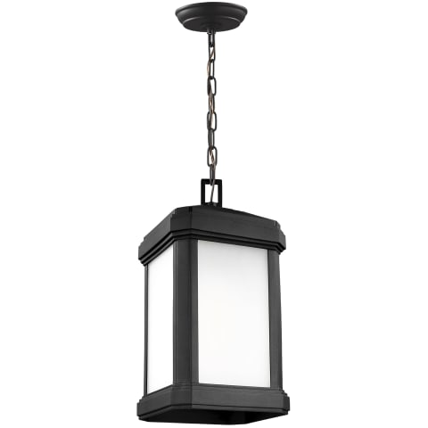 Gaelan One Light Outdoor Pendant Black Bulbs Inc