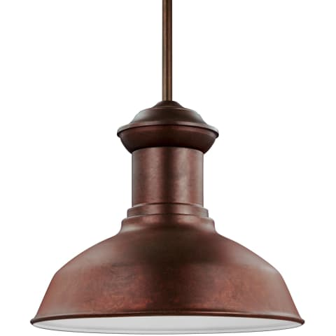 Fredricksburg One Light Outdoor Pendant Weathered Copper