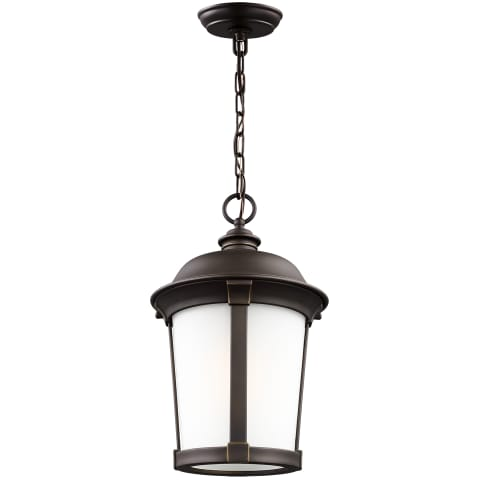 Calder One Light Outdoor Pendant Antique Bronze Bulbs Inc