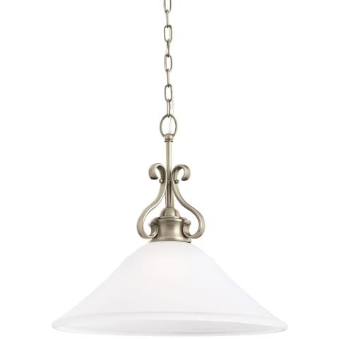 Parkview One Light Pendant Antique Brushed Nickel Bulbs Inc