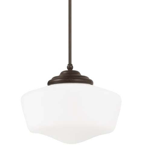 Academy Medium One Light Pendant Heirloom Bronze