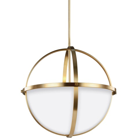 Alturas Three Light Pendant Satin Bronze