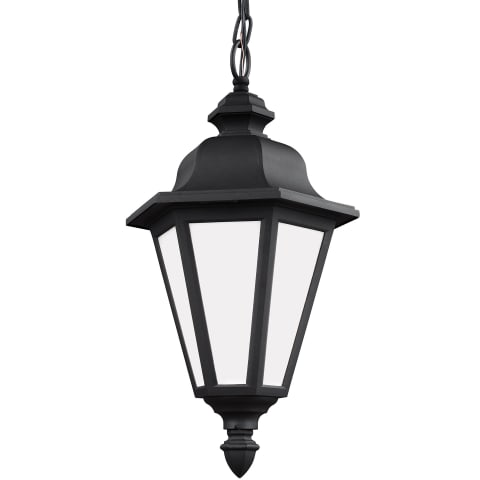 Brentwood One Light Outdoor Pendant Black Bulbs Inc