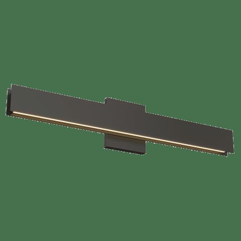 Bau 24 Bath nightshade black 3000K 90 CRI integrated led 90 cri 3000k 120v