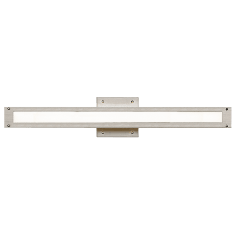Denton 24 Bath satin nickel 3000K 80 CRI led 80 cri 3000k 120v