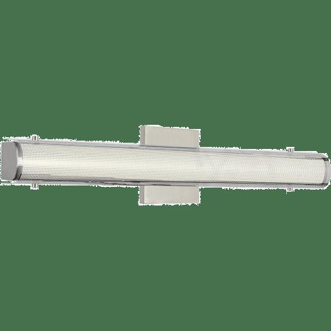 Zuka 24 Bath Perforated Metal chrome 3000K 90 CRI led 90 cri 3000k 120v (t24)
