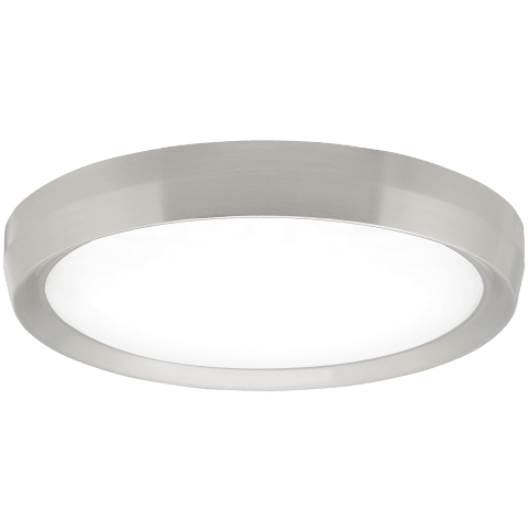 Bespin 18 Flush Mount Large satin nickel 3000K 90 CRI led 90 cri 3000k 120v