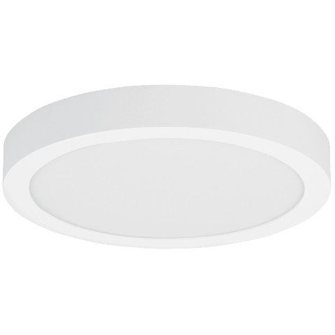 Tenur Round 12 Flush Mount 12 matte white 3000K 90 CRI integrated led 90 cri 3000k 120v