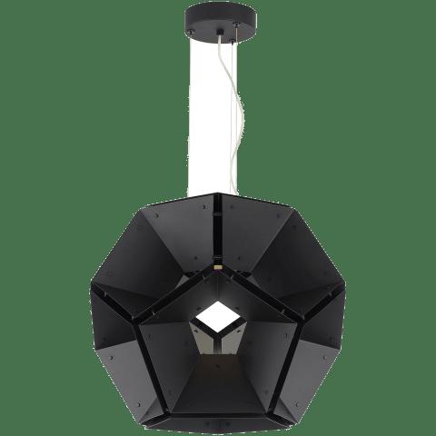 "Hex 24 Pendant 24"" Diameter Black/Black 3000K 90 CRI led 90 cri 3000k 120v"