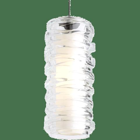 Leigh Pendant Clear chrome 12 volt halogen (t20)
