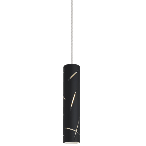 Talisma Pendant MonoPoint Small Black satin nickel 3000K 90 CRI 12 volt led 90 cri 3000k (t20/t24)