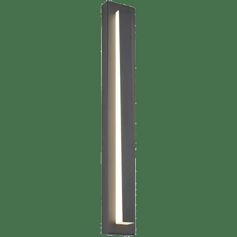 Aspen Wedge 36 Outdoor Wall charcoal 3000K 90 CRI
