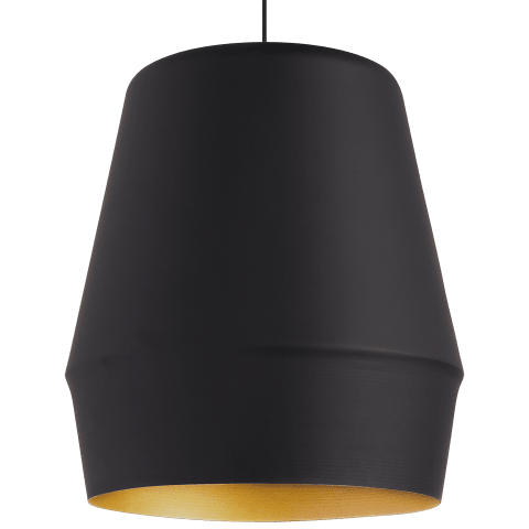 Allea Pendant black/gold no lamp