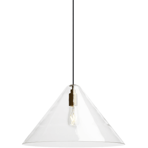 Cuneo Pendant Standard Clear satin nickel Not Applicable no lamp